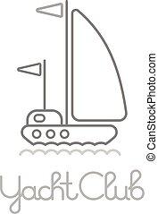 Yacht Club Icon