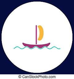 yacht computer symbol