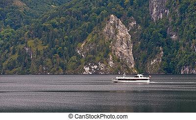 Yacht crossing