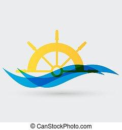 yacht, icona
