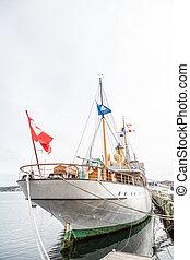 Yacht in Halifax
