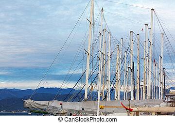 Yacht in Turkey