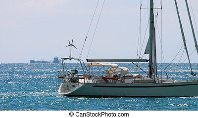 yacht, luxe, voile