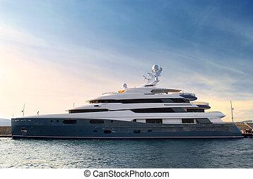 yacht, luxus