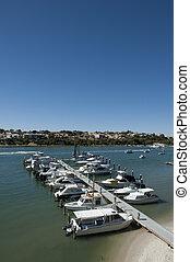 Yacht marina holiday destination