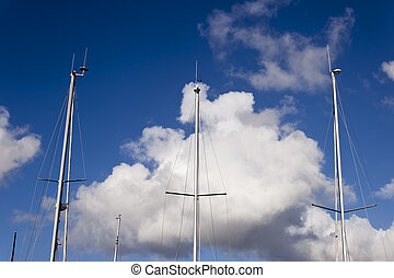 Yacht masts