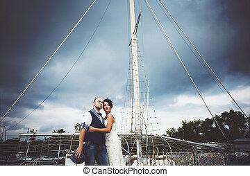 yacht, matrimonio