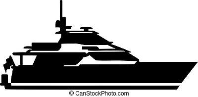 yacht, motore