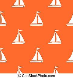 Yacht pattern seamless