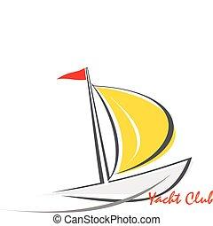 Yacht - sailing boat