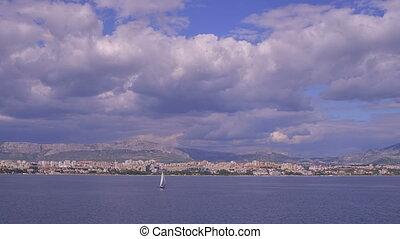 Yacht sailing Split coastal watters - Yacht sailing Split...