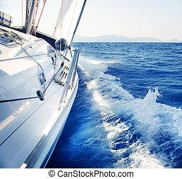 yacht., sailing., yachting., tourism., fényűzés, életmód