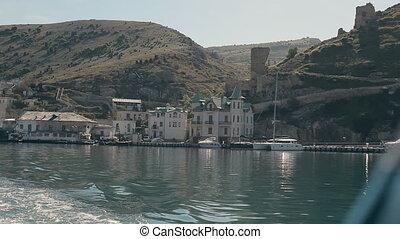 Yacht. Sailing. Yachting. Tourism. Luxury Lifestyle...