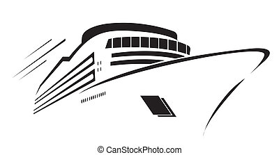 Yacht Symbol Vector Illustration