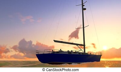 Yachting in the tropcal seas