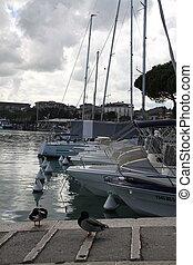 Yachts marina