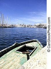 Yachts- Tunisia - Yachts at the Port El Kantaoui Marina near...