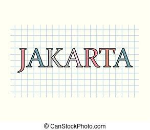 yakarta, concepto