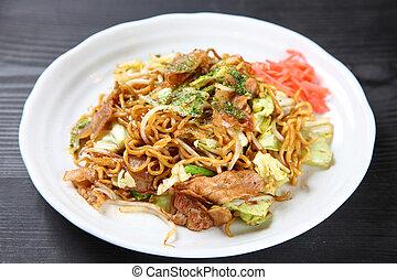 YAKISOBA Japanese fried noodles