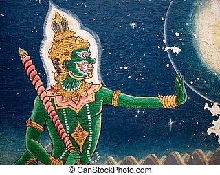Yaksha painting