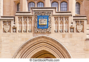 Yale University Sheffield Scientific School Building Ornate...
