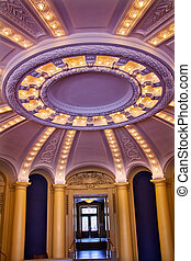 Yale University Woolsey Hall School of Music Building Dome...