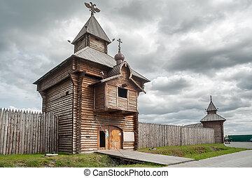 Yalutorovsk. Sretensky fortress. Russia - Russia....
