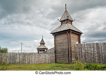 Yalutorovsk. Sretensky fortress. Russia - Yalutorovsk,...