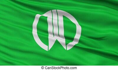 Yamagata Capital City Flag, Yamagata Prefecture of Japan,...