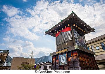 Yamanaka Onsen, Ishikawa Prefecture, Japan Town Square - ...