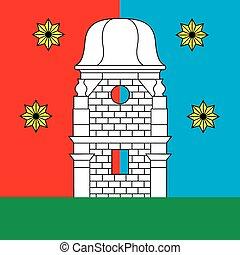 Yampol city flag