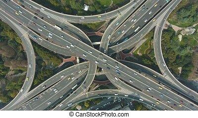 yanan elevated road overpass
