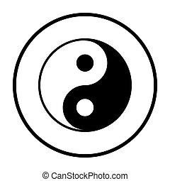 yang de yin, icono
