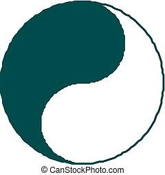 yang de ying, símbolo