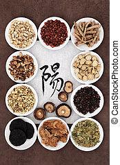 Yang Herb Selection