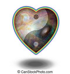 yang yin, coeur