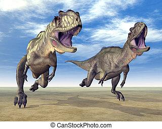 yangchuanosaurus, dinosaurio