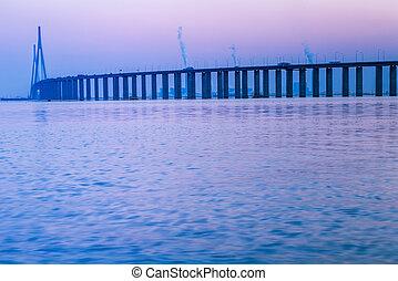Yangtze River bridge