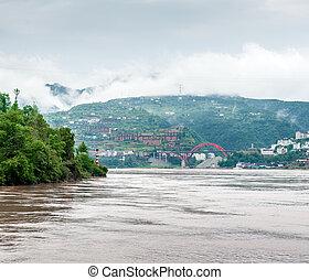 yangtze, utazás, folyó