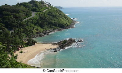 Yanui beach and Promthep cape in Phuket