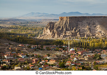 Yaprakhisar village in Cappadocia