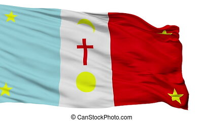 Yaqui Tribe Indian Flag Isolated Seamless Loop - The Yaqui...
