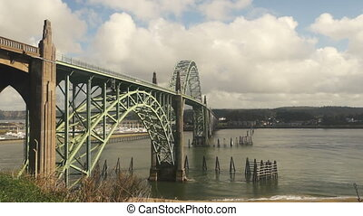 Yaquina Bay Shellfish Preserve - The river meets the Pacific...