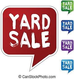 Yard Sale - Sale
