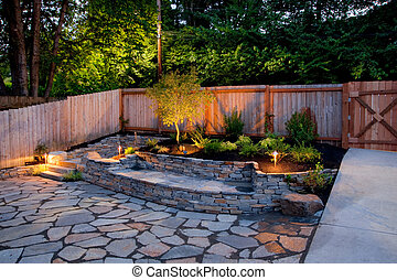 Yard - Urban backyard
