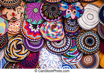 Yarmulke - traditional Jewish headwear, Israel.