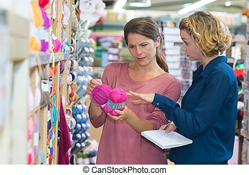 yarn and recreational store