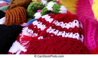 Yarn hat handmade - Hand selected yarn hat handmade