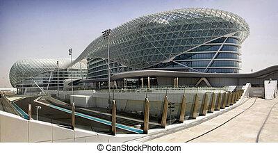 Yas Marina Circuit and hotel