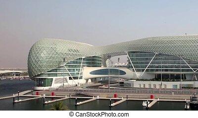 Yas Marina Hotel in Abu Dhabi